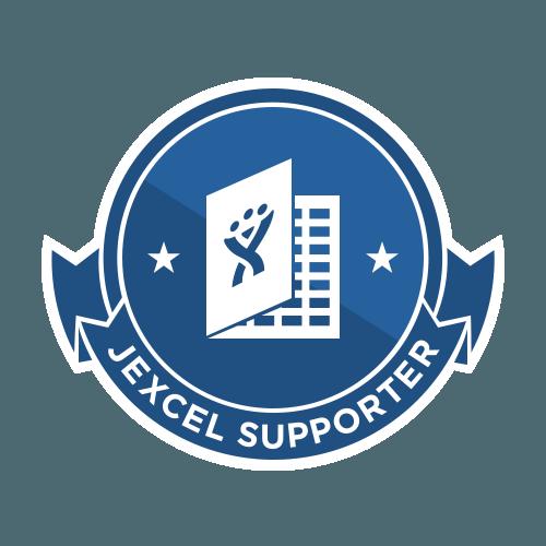 JExcel - Supporter badge